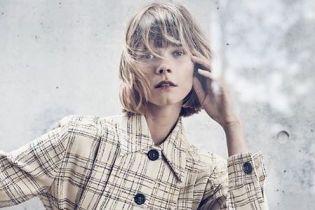 Украинская модель Ирина Кравченко в стильных нарядах снялась в новом фотосете