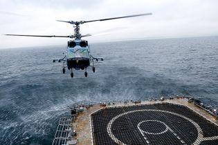 Над морем розбився вертоліт, загинуло двоє льотчиків