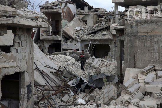 Російська авіація за три роки вбила 8 тисяч мирних жителів у Сирії - правозахисники