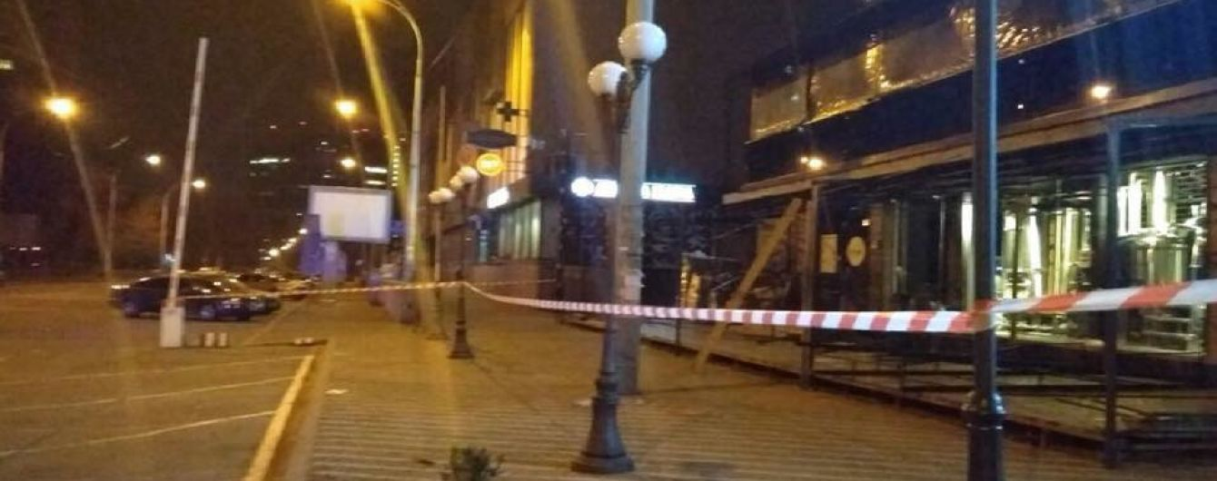 """Обстріл будівлі """"Київміськбуду"""" з гранатомета кваліфікували як хуліганство"""