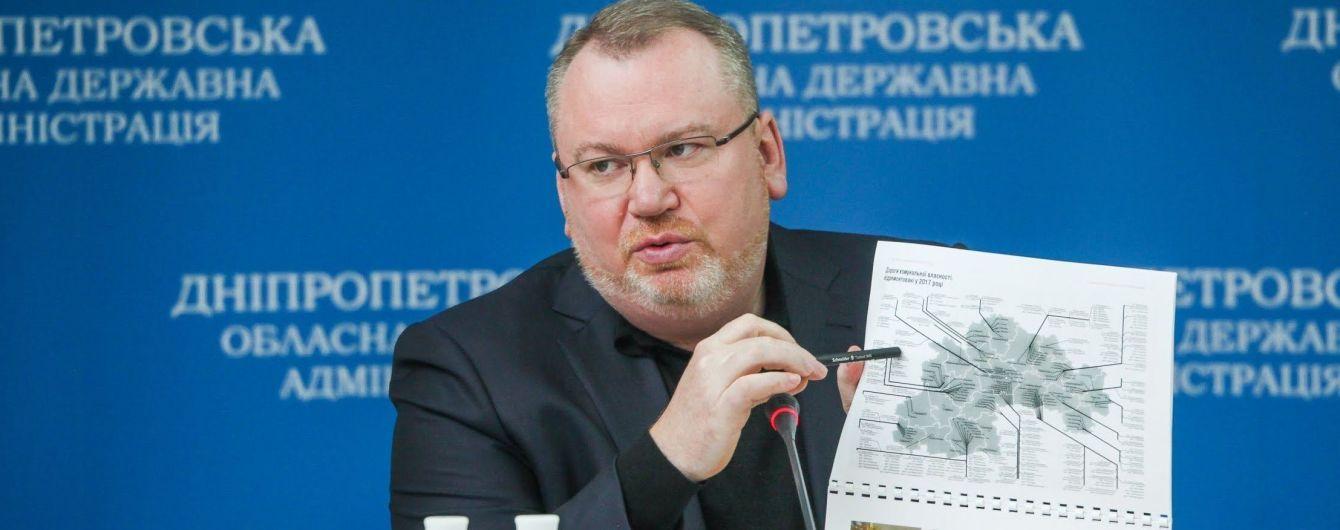 Валентин Резниченко: Началось строительство второй очереди объездной дороги вокруг Днепра