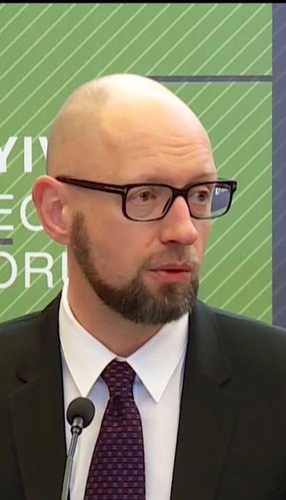 Яценюк прокомментировал возможную отставку правительства