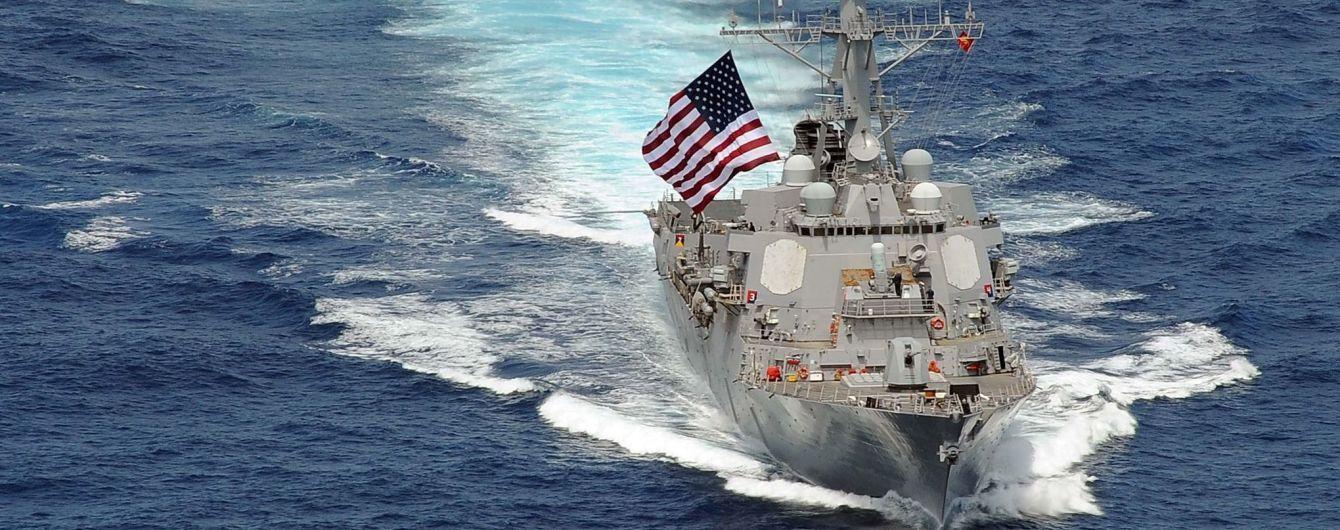 Американский эсминец присоединился к ударной группе кораблей США в Средиземном море