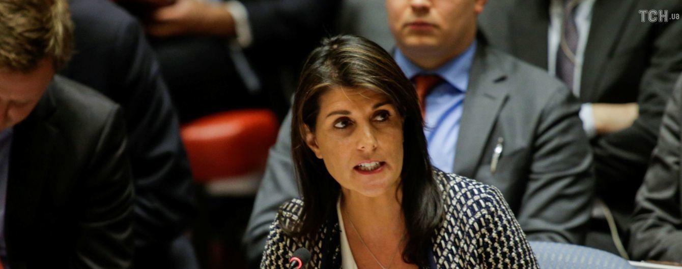 Конфликт в Секторе Газа: постпред США покинула зал Совбеза ООН перед выступлением посла Палестины