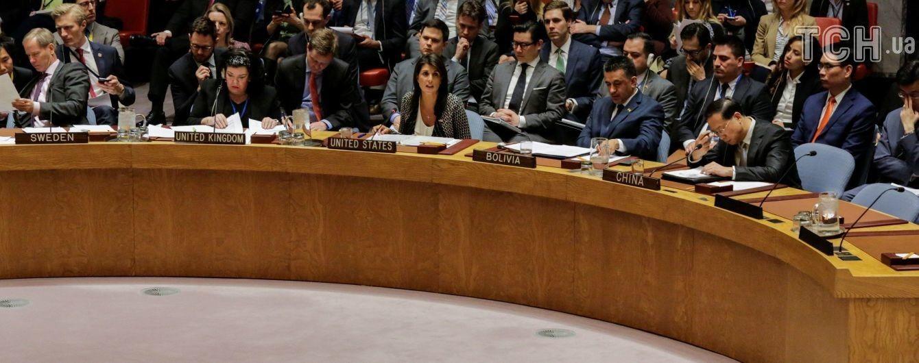 Постпред США в ООН назвала можливий удар по Сирії захистом основ міжнародного права