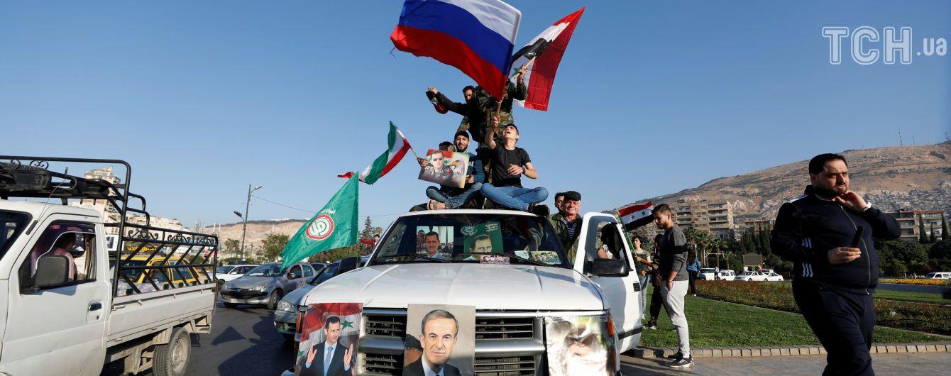 """Військові союзники РФ звинуватили коаліцію на чолі з США у """"деградації гуманітарної ситуації"""" в Сирії"""