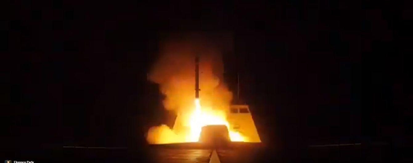 У Міноборони Франції показали відео запуску ракет по Сирії