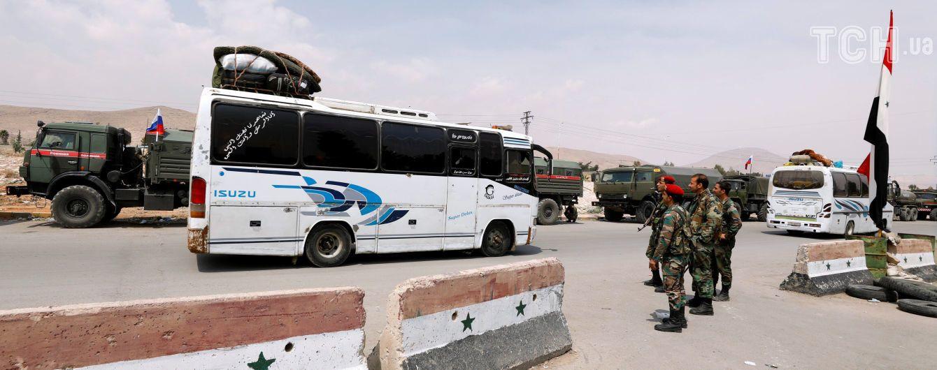 Сирійська армія взяла під повний контроль місто, в якому сталася хімічна атака