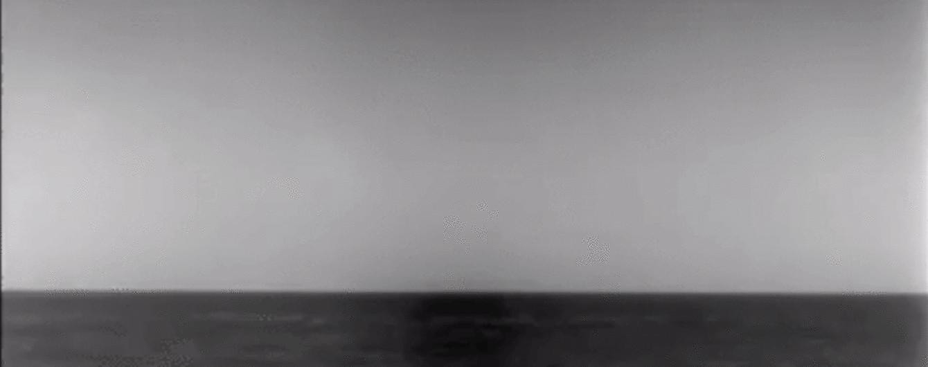 """Ракетні удари по Сирії. Міноборони США показало момент пуску """"Томагавка"""" з підводного човна"""