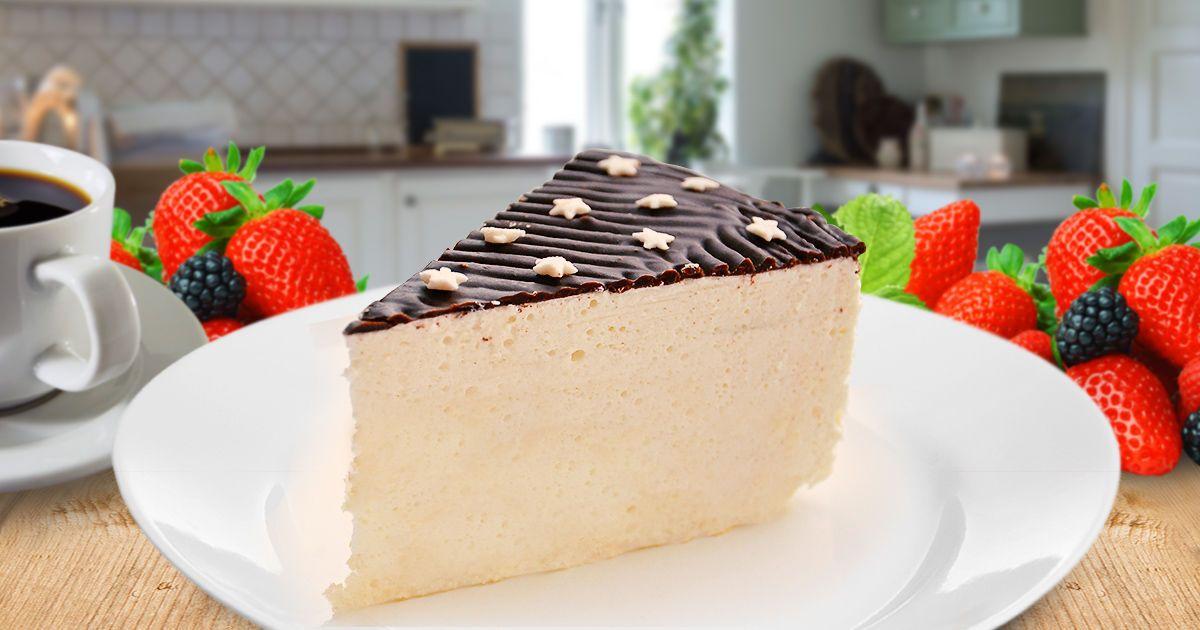 Нежный торт-суфле, просто тающий во рту