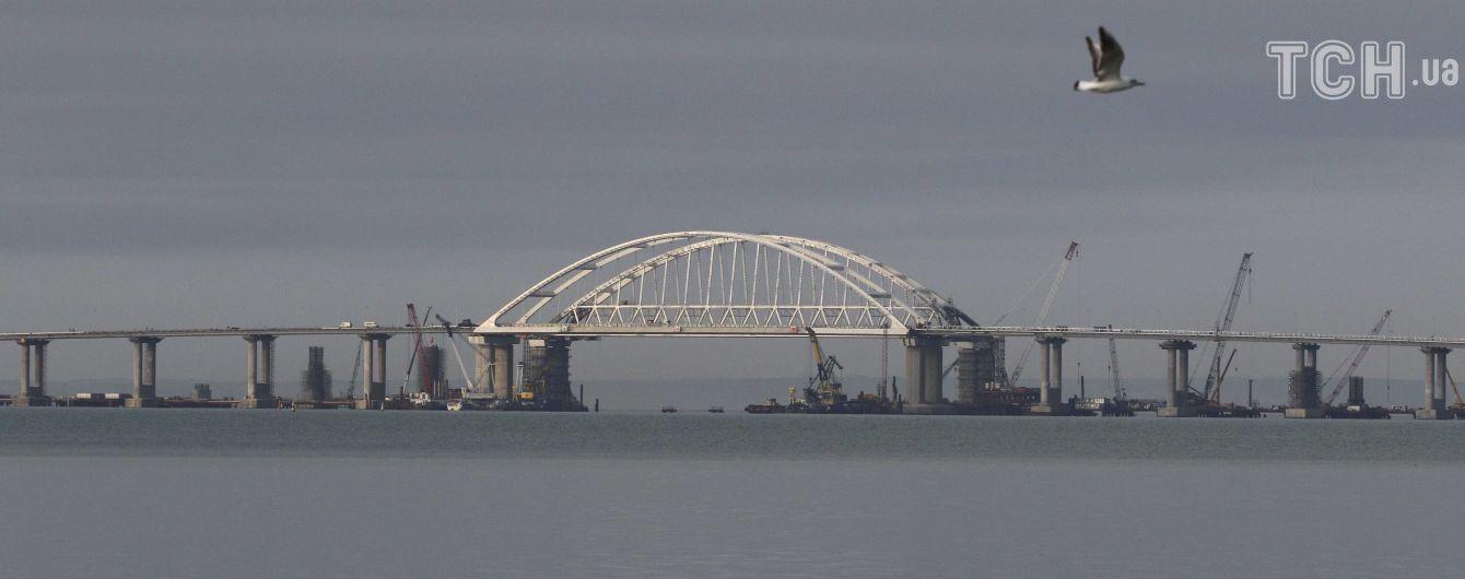 В Керченском проливе столкнулись два грузовых судна