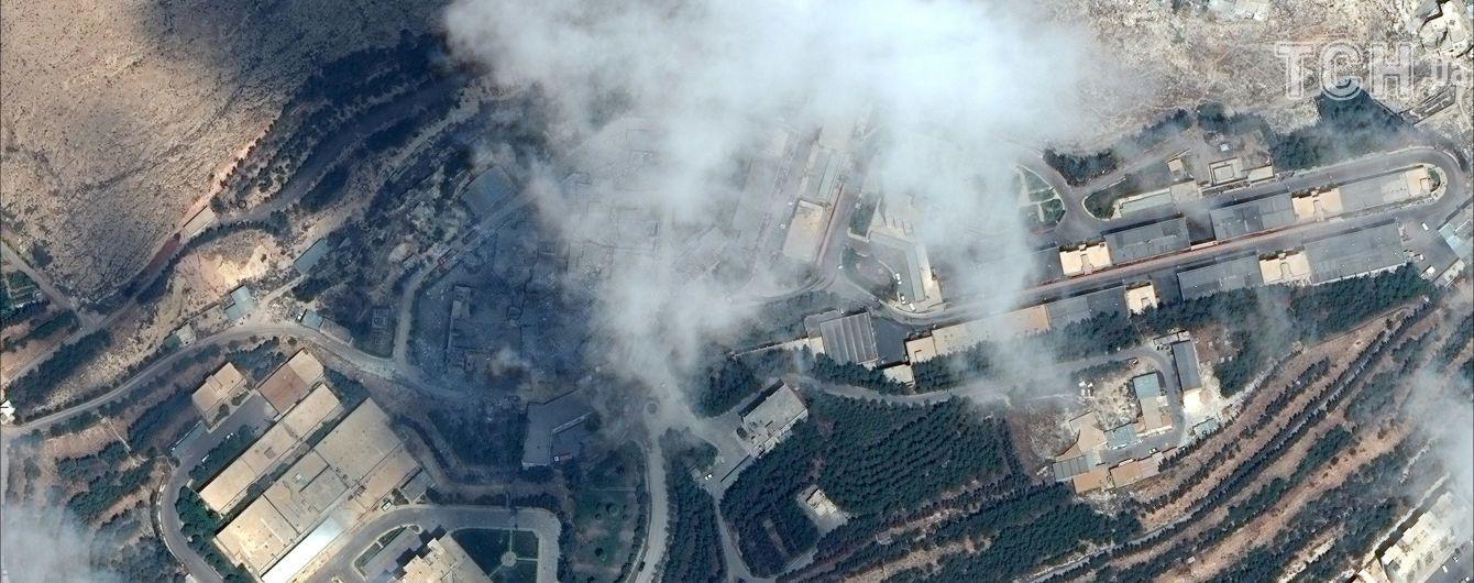 Якою зброєю і куди в Сирії поцілили війська США та її союзників. Інтерактивна мапа