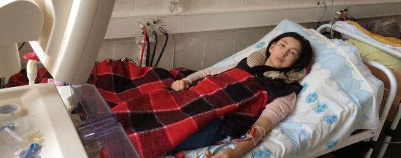 Галина просит помочь ей собрать средства на трансплантацию почки