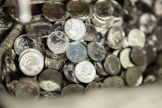 Нацбанк прекращает печать купюр от 1 до 10 гривен