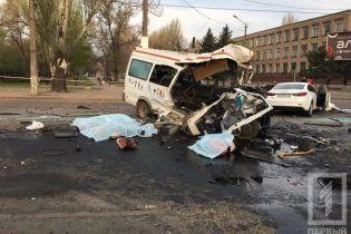 Смертельная авария в Кривом Роге: полиция задержала одного из водителей