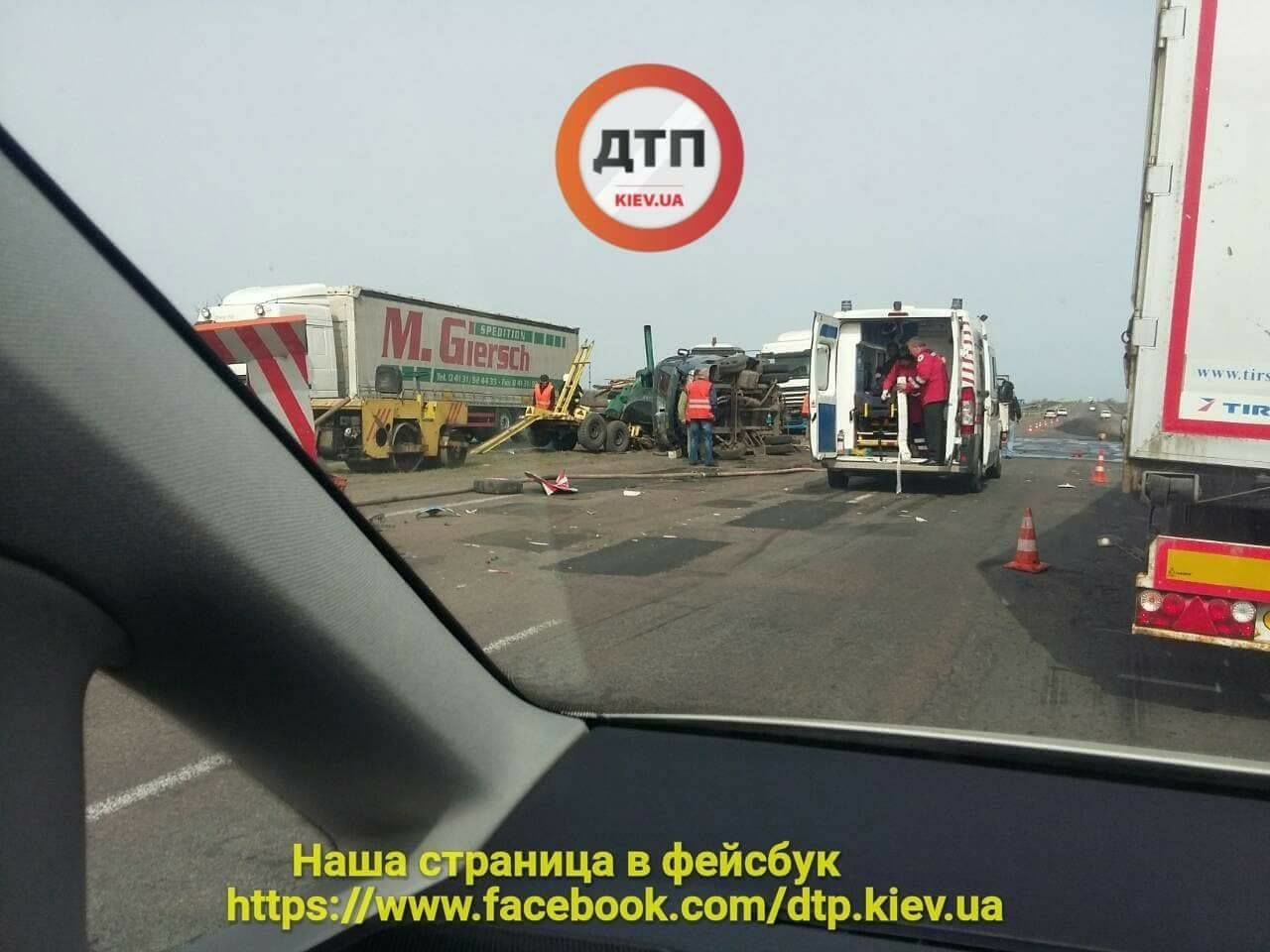 Аварія на Одеській трасі