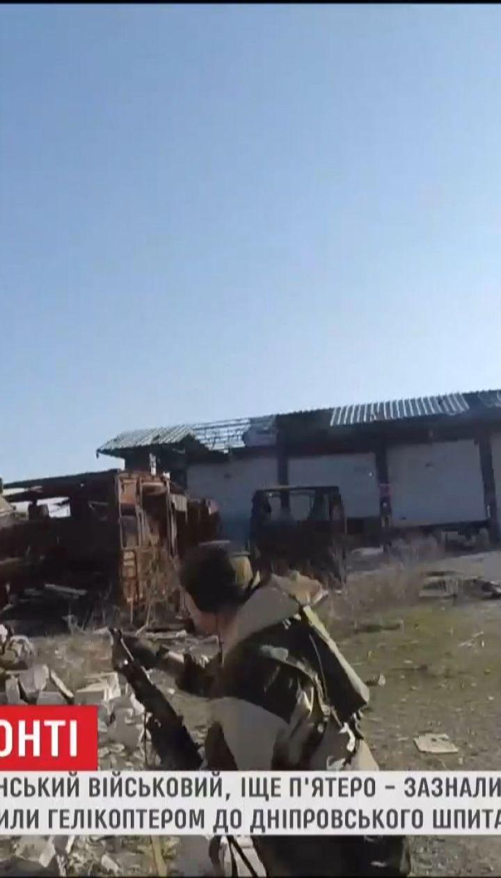 Украинская армия несколько дней подряд несет потери в поселке Пески