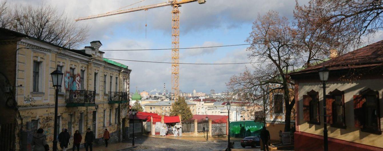 После конфликта и взрывов скандальное строительство на Андреевском спуске возобновилось