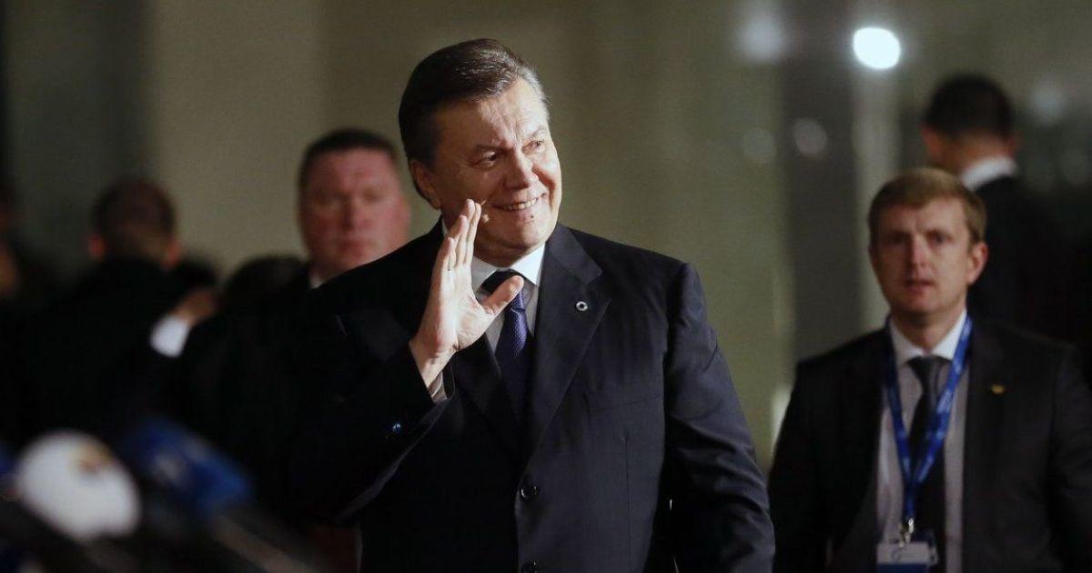 ЕС продлил на год санкции против Януковича и его прихвостней: двух человек из списка убрали