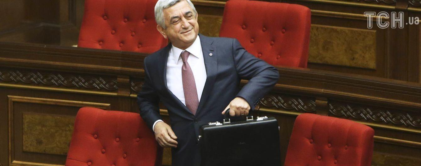 Премьер Армении на фоне протестов сделал заявление о возможности отставки