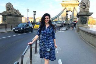 Соломия Витвицкая похвасталась осиной талией в дизайнерском корсете