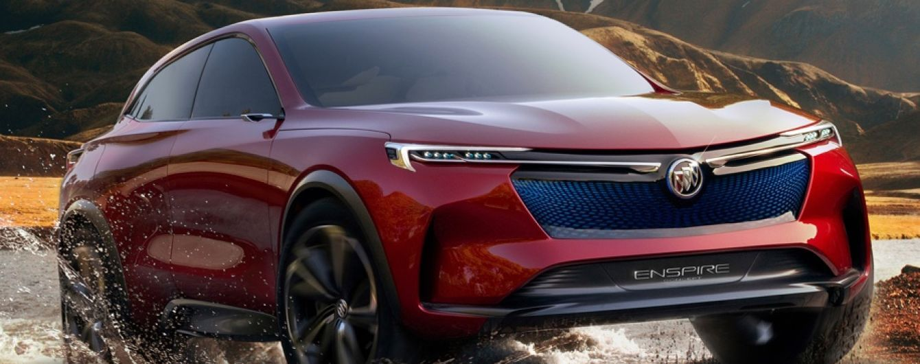 В Buick поведали о ноу-хау технологиях нового кроссовера на электрике