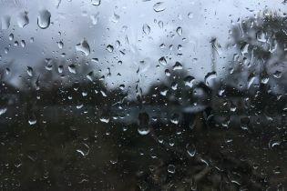 В Украину пришли дожди с похолоданием