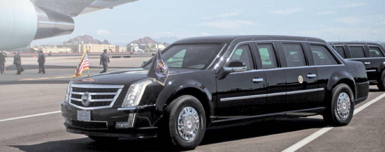 """Cadillac создал для президента США """"зверский"""" лимузин"""