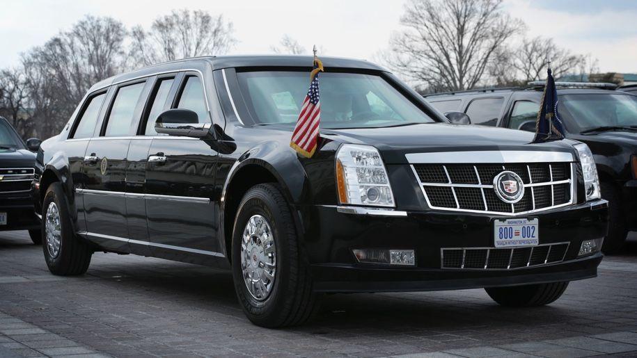 лимузин, президент