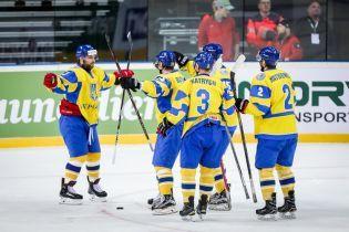 Збірна України з хокею з впевненої перемоги стартувала на чемпіонаті світу