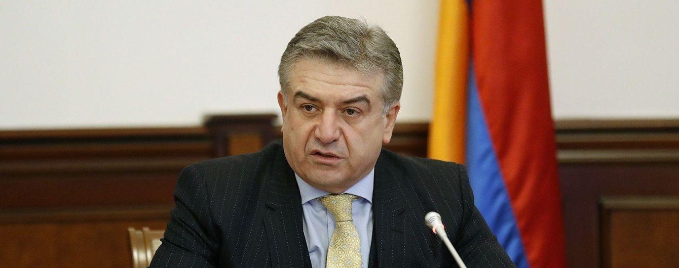 Уряд Вірменії визначився з наступником Саргсяна
