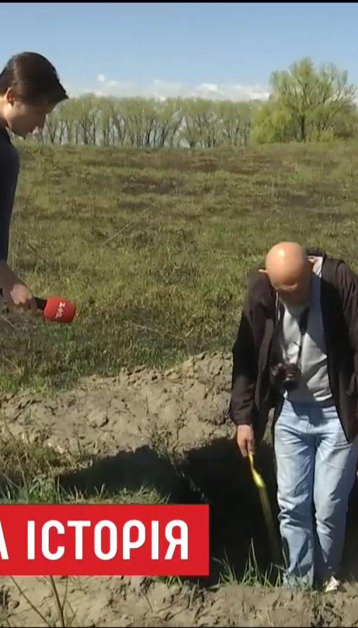 На Киевщине неизвестные ограбили старинное городище 12 века