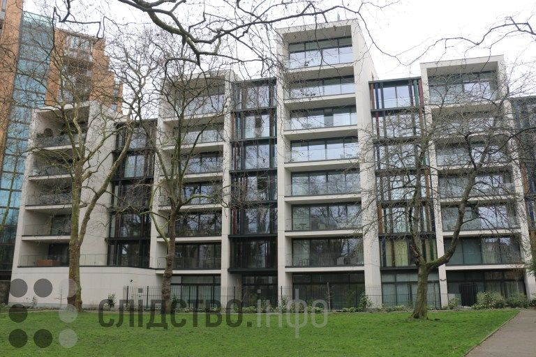Квартира Труханова у Лондоні