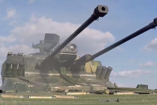 """Мощная сила двух пушек: на Житомирщине прошли успешные испытания боевого модуля """"Дуплет"""""""