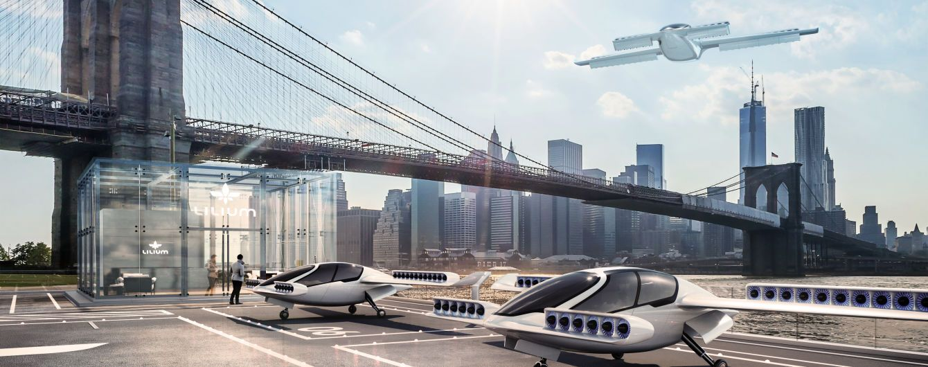 """Стартап с амбициями """"Силиконовой долины"""": летающее такси появится к 2025 году"""