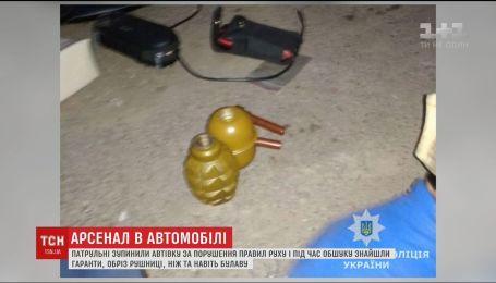 В Житомирской области мужчина перевозил арсенал оружия в автомобиле
