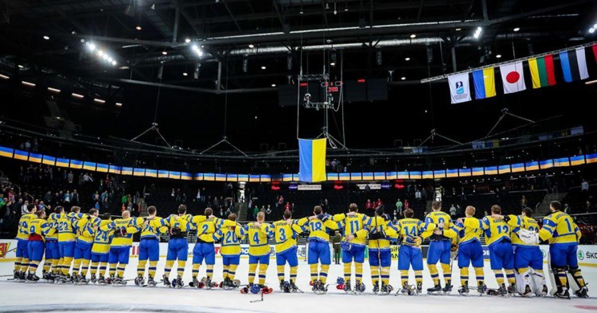 Юніорська збірна України з хокею пропустила 13 шайб від Німеччини на Чемпіонаті світу