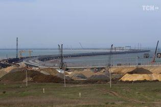 ЕС ввел санкции против шести компаний, которые строили Крымский мост