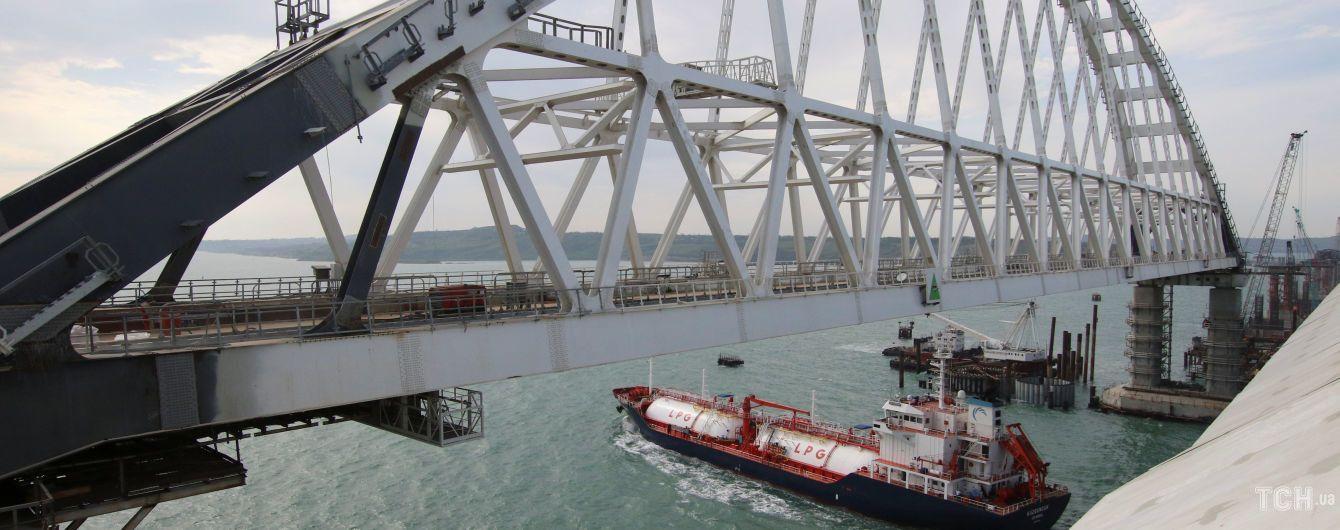 У ЄС схвалили санкції проти причетних до незаконного будівництва Керченського мосту
