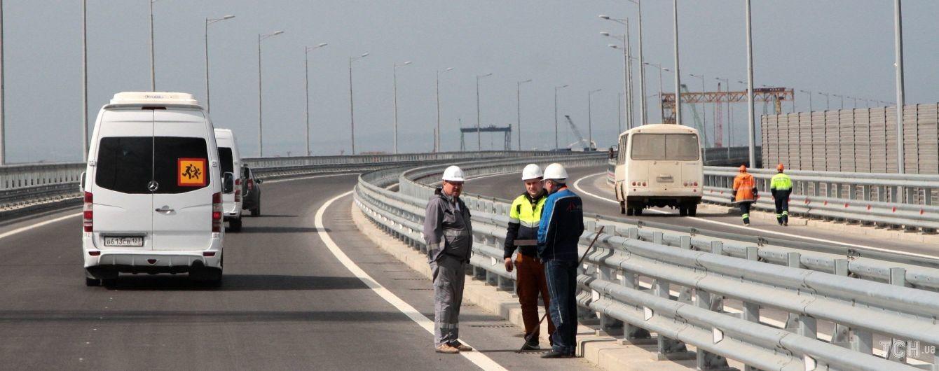 Крим - частина України, а міст через Керченську протоку порушує її цілісність - НАТО