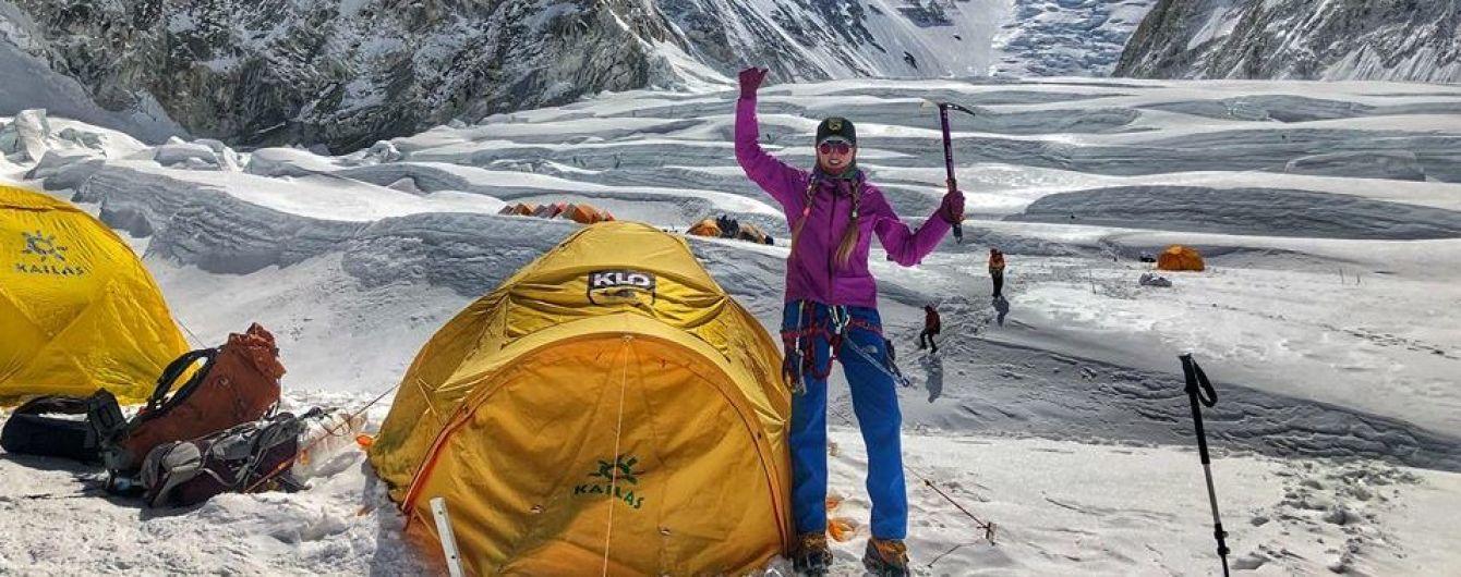Українка, яка підкорила Еверест, пройшла легендарний кригопад