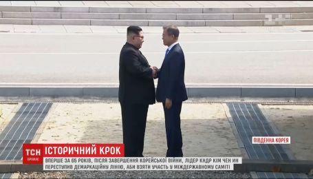 Лидеры обеих Корей встретились, чтобы поговорить о мире и отказе КНДР от ядерной программы