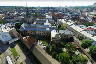 Старинный костел во Львове будет защищен рвом с водой
