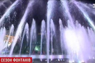 Киевские фонтаны будут развлекать горожан до конца сентября