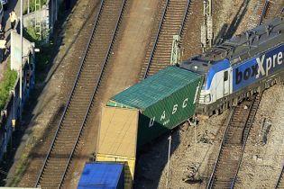 В Мюнхене с рельсов сошел грузовой поезд