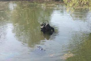 У Києві рятувальники дістали тіло чоловіка з озера на території парку
