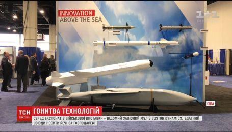 В Вашингтоне открылась крупнейшая в США выставка военной техники Sea Air Space 2018