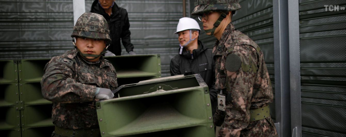 Військові Південної Кореї і КНДР обговорять зниження напруженості в демілітаризованій зоні
