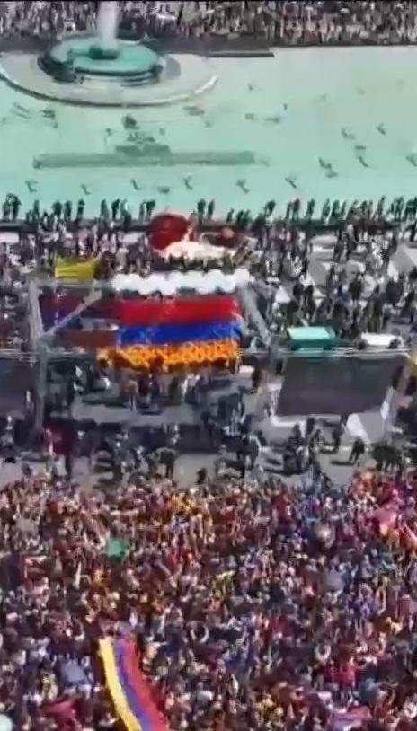 В Армении началась акция неповиновения