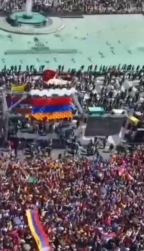 У Вірменії розпочалася акція непокори